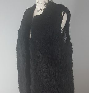Michael Kors Vegan Long Fur Vest